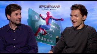 Tom Holland And Director Jon Watts Talk Spider man Homecoming
