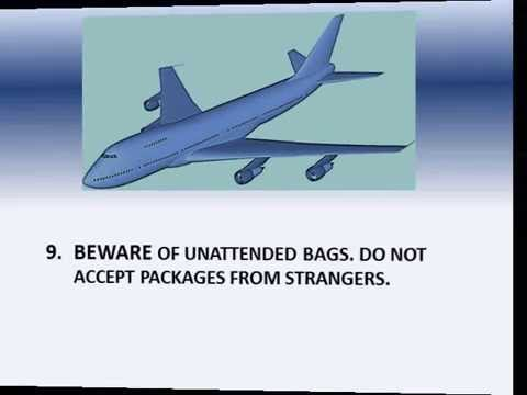 10 AIRLINE TRAVEL GUIDELINES