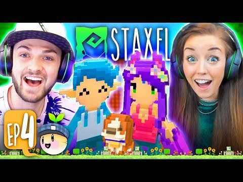 ALI JOINS MY FARM! 💑🐄 (Staxel #4!🐷)
