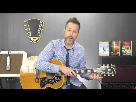 LIVE - Guitar Lesson Q&A - Facebook Mentions - 30,000 Foot View of Guitar Playing