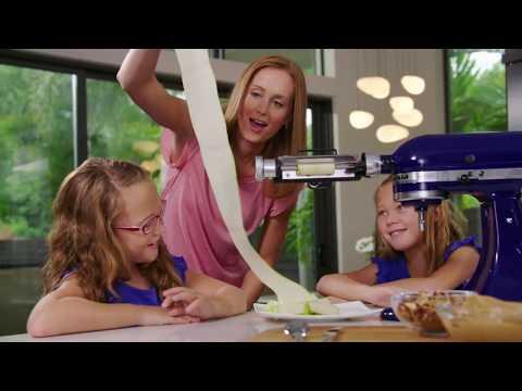 New Vegetable Sheet Cutter Attachment: Stand Mixer | KitchenAid