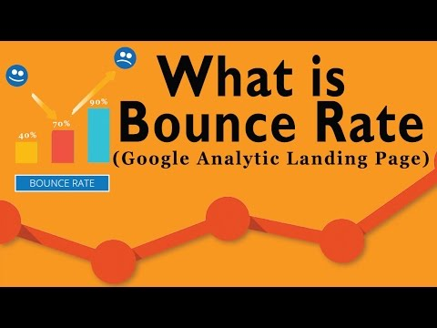 How to Check Website's Bounce Rate | Google Analytics Landing Pages