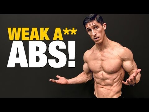 Your Abs are Weak (EVEN IF YOU'VE GOT A 6 PACK!)