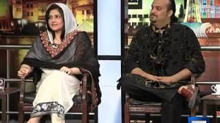 Mazaaq Raat - 28 April 2014 | Amjad Sabri