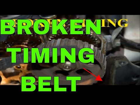 Timing Belt Breaks While Driving