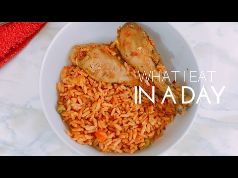 WHAT I EAT IN A DAY TO LOSE WEIGHT    Nigerian Food (Amazing!)