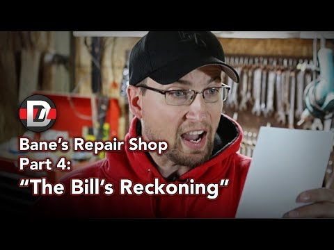 Bane's Repair Shop - Part 4: The Bill's Reckoning - Dark Knight Rises Parody