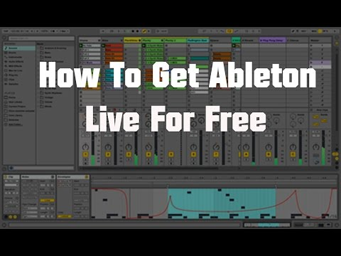 How To Get Ableton Live Full For Free👌🎁