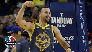 Steph Curry moves to 3rd all-time on 3-point list as Warriors bury Bulls | NBA Highlights