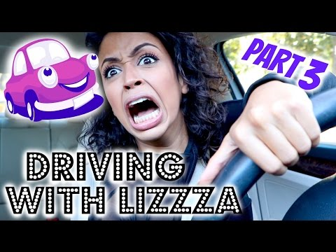 CRASHED MY CAR?! DRIVING WITH LIZA