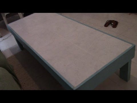 TILE A TABLE...how to build one