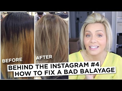 Behind the Instagram #4 - How to Fix a Bad Balayage