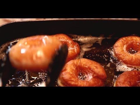Glazed Donuts from our Sweet Bread Dough