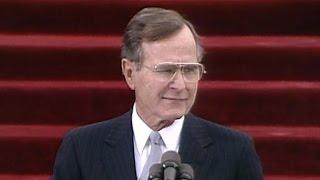 George H.W. Bush inaugural address: Jan. 20, 1989