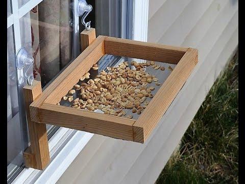 How to Make a Window Bird Feeder (woodlogger.com)