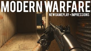 Download Modern Warfare NEW Gameplay + Hands on Impressions Video