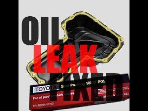 01 Celica GT Oil Pan Gasket | Replacement