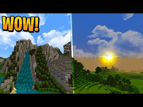 BEST REALISTIC/MODERN TEXTURE PACK!! - Minecraft Pocket Edition (Bedrock Edition)