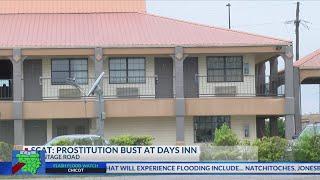 SCAT prostitution bust at Days Inn