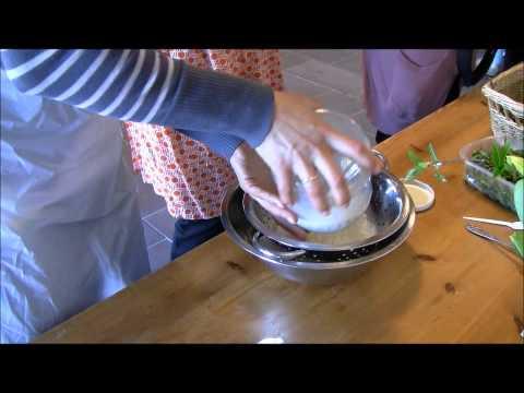 Growing Gastronauts making Homemade Butter