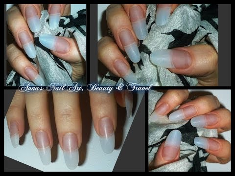 How to apply Acrylic to Oval & Stiletto Nails