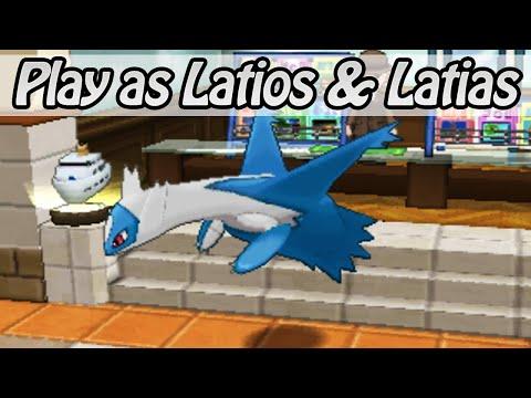 Play as Latios and Latias - Pokemon Omega Ruby / Alpha Sapphire (Hack)