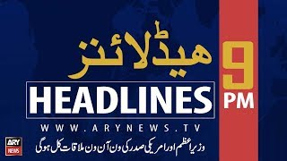 Download ARY News Headlines|CM Buzdar orders strict action against drug peddlers| 9PM |22 September 2019 Video