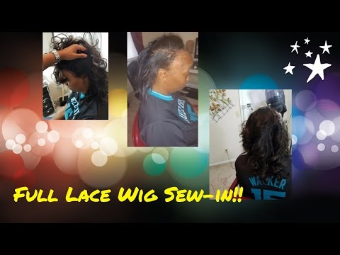 Full Lace Wig Sew-in! 👍🏽