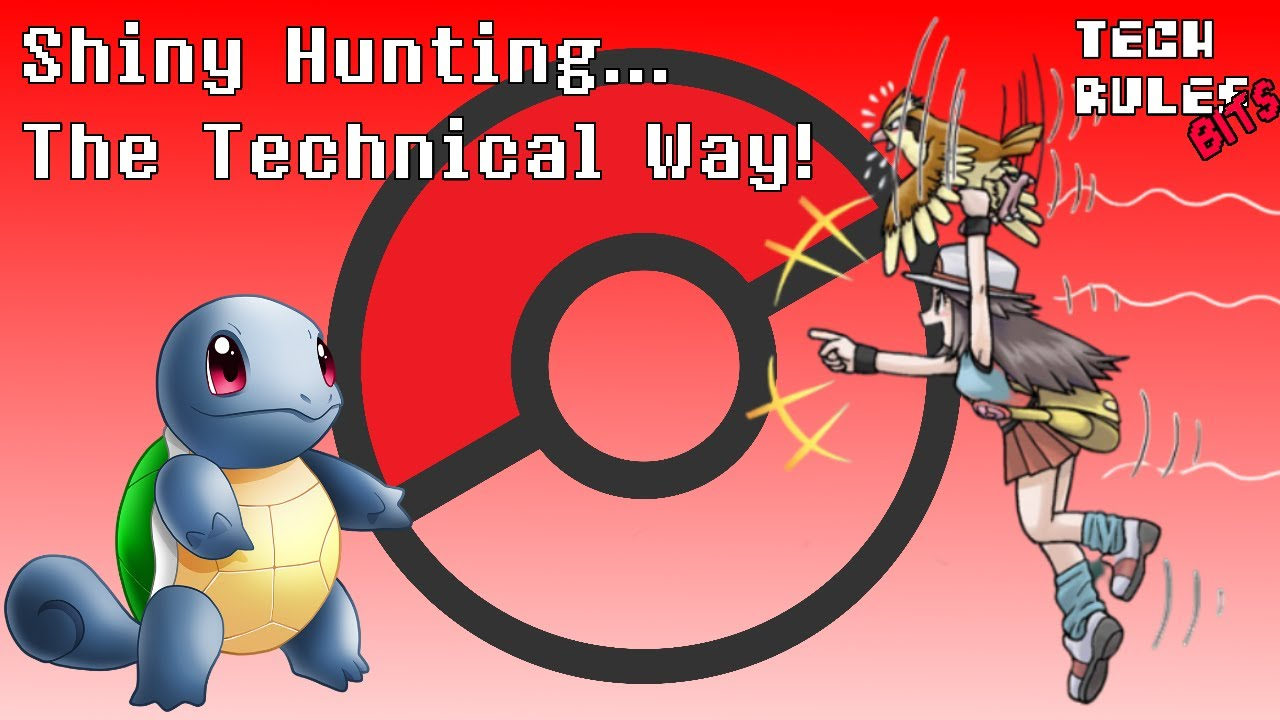 Let's Abuse RNG to Catch a Shiny Pokemon | Tech Rules Bits