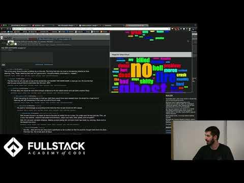 Stackathon Presentation: Sentiment Analysis for Reddit Threads