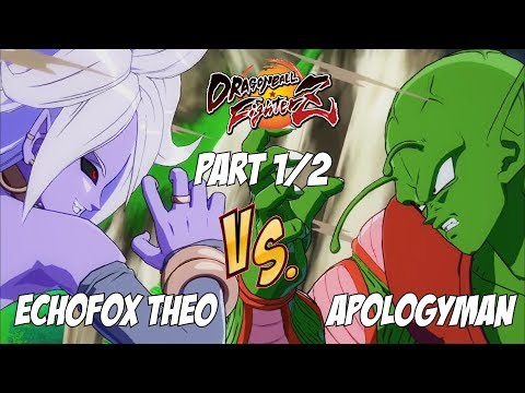 Echofox Theo(Bardock/Android 21/Tien) Fights Apologyman(Piccolo/Tien/SSJ Goku) 1/2[DBFZ]