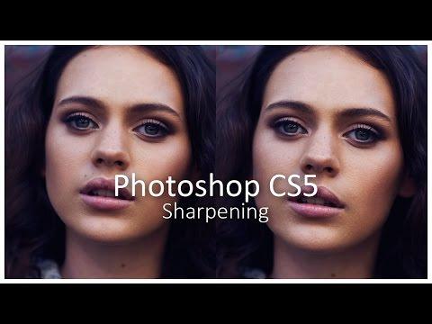 [Photoshop CS5] Sharpening - Tutorial