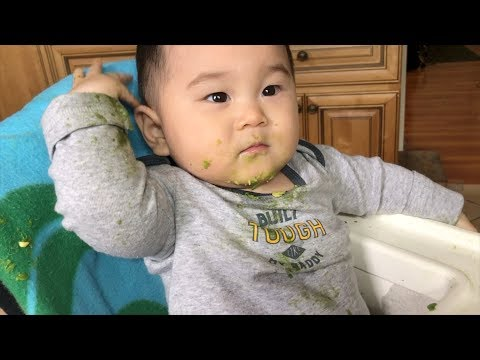 BABY THREW UP ON HIMSELF? [March 1-3, 2018]