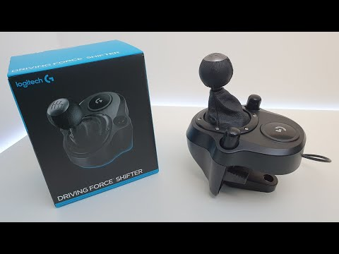 Logitech Driving Force Shifter for G29 and G920 Racing Wheels [Unboxing and Setup]