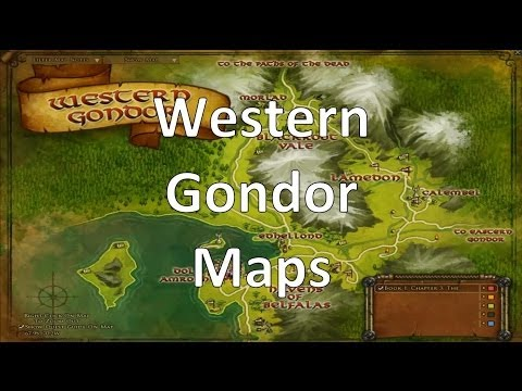 LOTRO Update 14 Beta - Western Gondor Maps