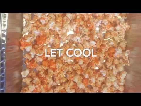 How to make candy popcorn