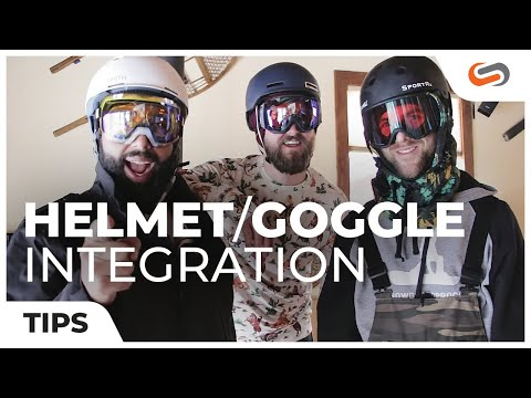 Snowboarding Helmet and Goggle Integration  - From Dad to Rad | SportRx.com