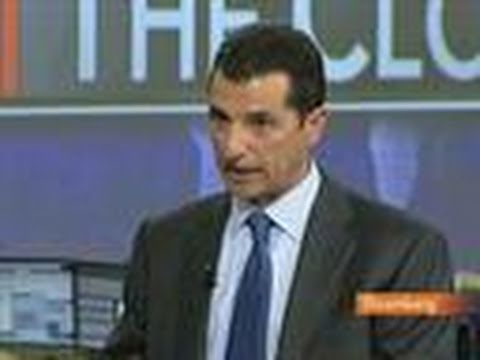 Saluzzi Sees U.S. Stocks Falling on `Complacency': Video