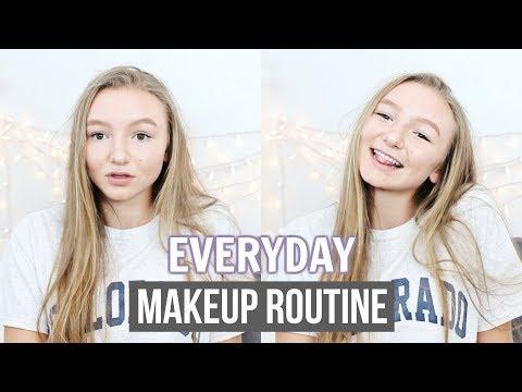 EVERYDAY MAKEUP ROUTINE 2017 | Lauren Truelove