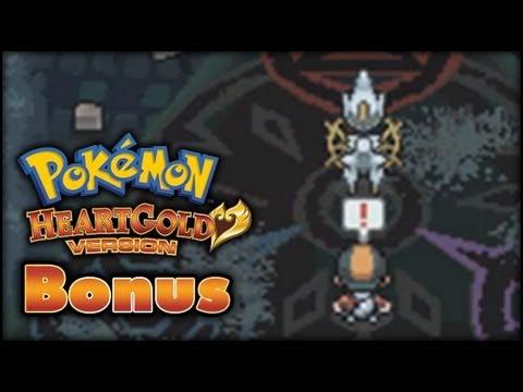 Pokemon HeartGold Walkthrough Bonus - Eigaken Arceus