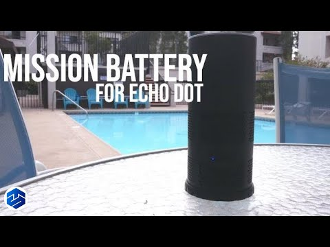 Mission Battery Shell for Amazon Echo 2nd Generation