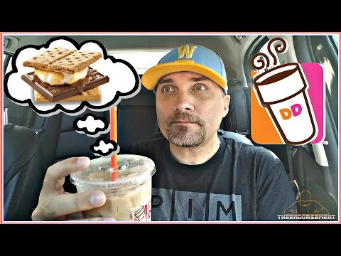 DUNKIN' DONUTS® S'MORES ICED COFFEE REVIEW