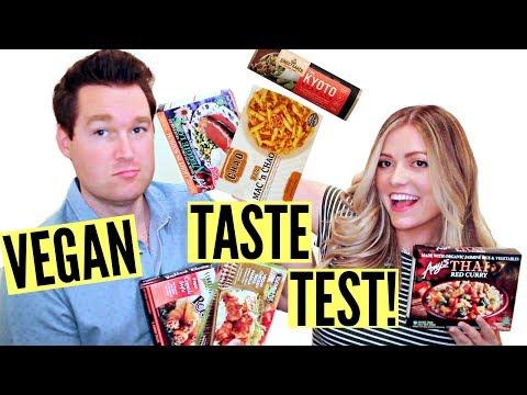 VEGAN FROZEN FOOD TASTE TEST!