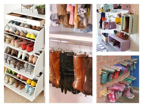 Best Shoe Storage Ideas - Home Organization Tips