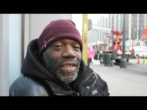 When Norman first hit the streets of New York City he didn't know anything about homelessness