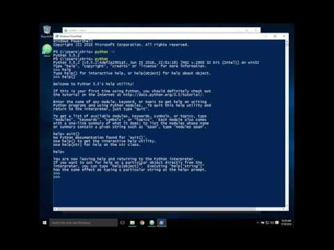 Installing and running Python 2 & 3 in Windows 10