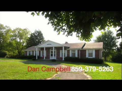 81 acre Kentucky home and land for sale 2700 Hwy 2141 KY brick ranch horse farm