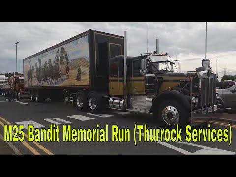Burt Reynolds - The M25 Bandit Memorial Run (Thurrock Services)