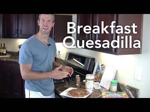 How to Make a Breakfast Quesadilla