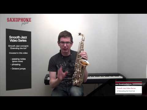 Play Smooth Jazz Sax video series - part II
